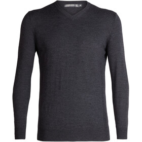 Icebreaker Shearer Sweater Herrer, char heather
